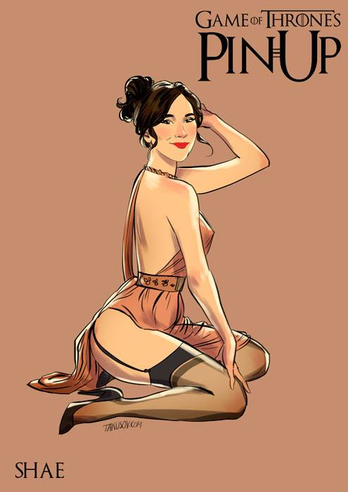 Andrew Tarusov - Game of Thrones Pin Ups Shae