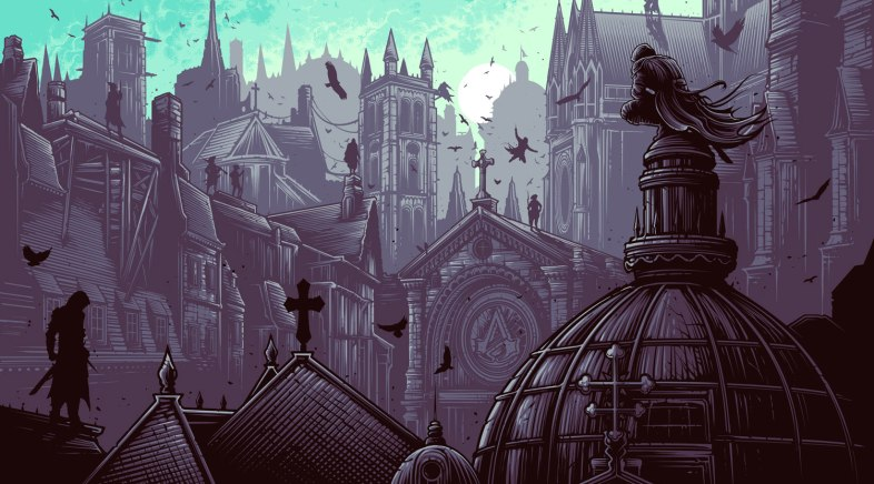 Dan Mumford – Assassins Creed Unity E3 Variant Edition for French Paper AC