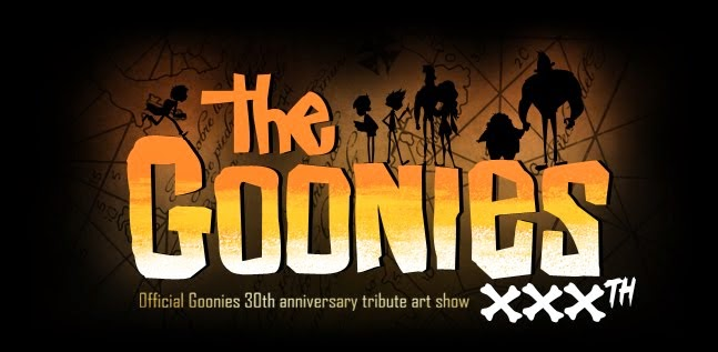 The Goonies 30th Anniversary Art Show