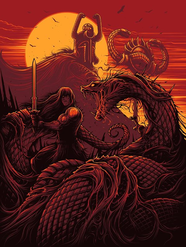 Dan Mumford - They shall all drown in lakes of blood