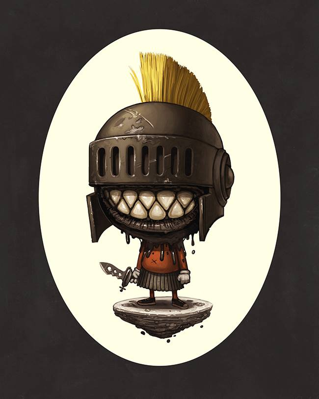 Mike Mitchell - Exclusive San Diego Comic Con Prints - COPYWRONG Mark