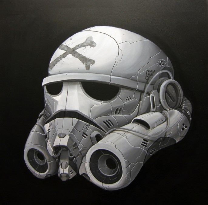 Clogtwo - DIE JEDI SCUMB SERIES- THE STORM TROOPER