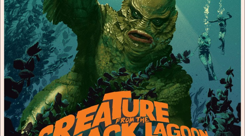 Stan and Vince – Creature of the Black Lagoon Print for Mondo