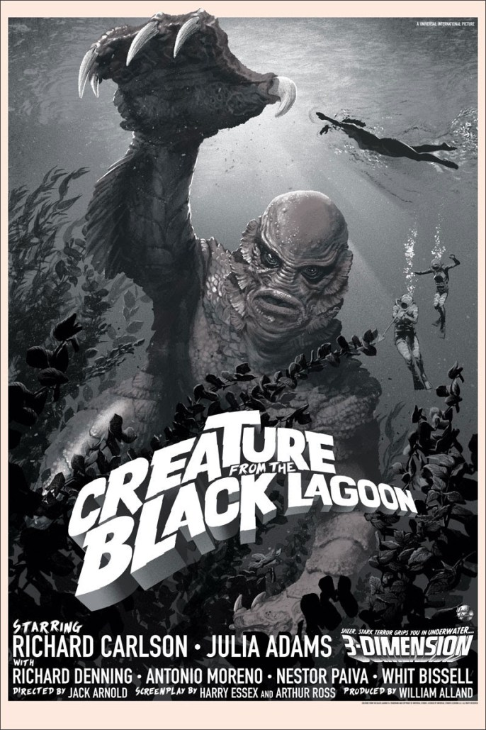 Stan and Vince - Creature of the Black Lagoon Variant