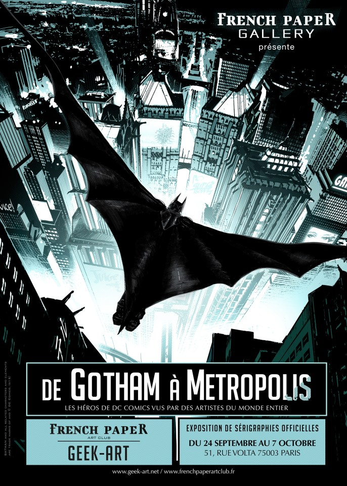 GOTHAM METRO AFFICHE DEF light