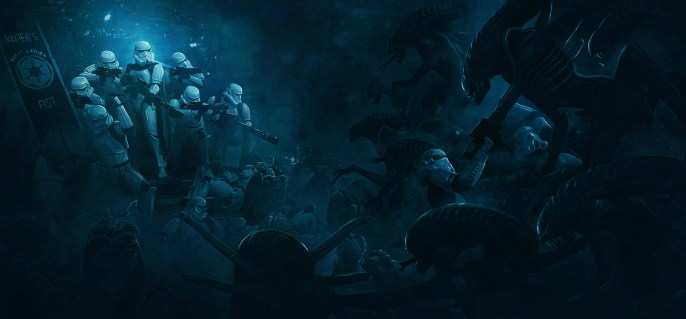 Guillem Pongiluppi - Star Wars VS Aliens