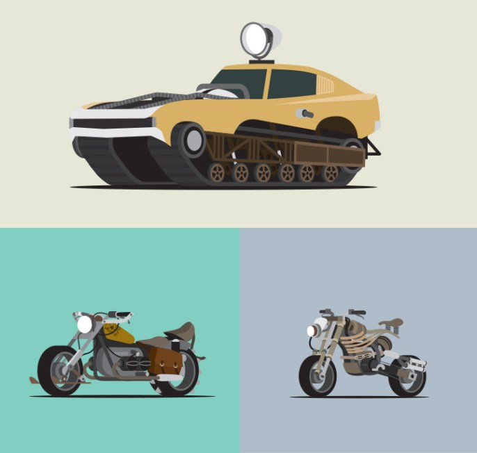 Scott Park - Mad World - The Vehicles of Fury Road 7