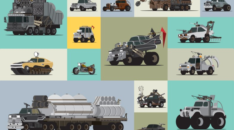 Scott Park – Mad World – The Vehicles of Fury Road