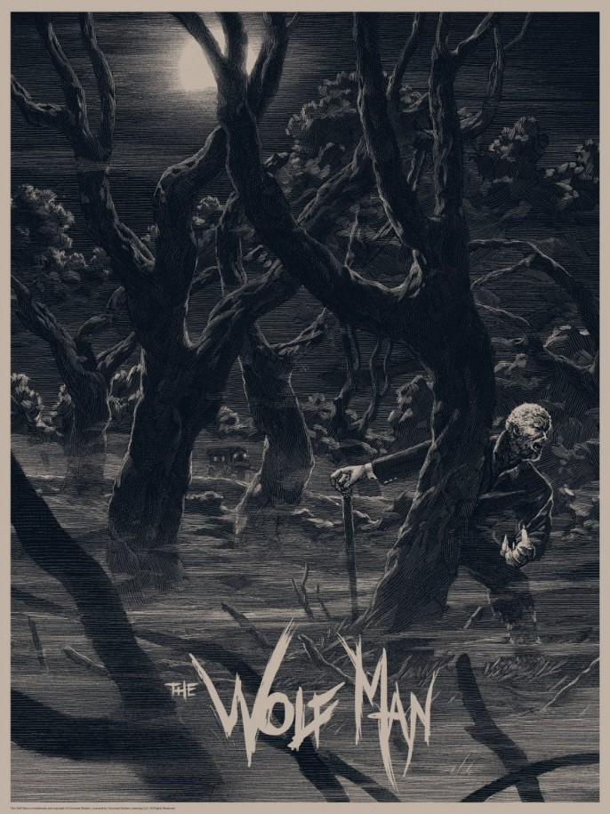 Nicolas Delort - The Wolf Man Variant