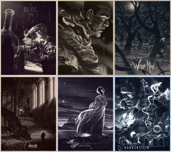 Nicolas Delort - Universal Classic Monsters Series