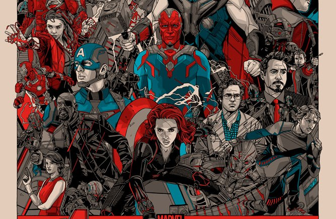 Tyler Stout – Avengers – Age of Ultron