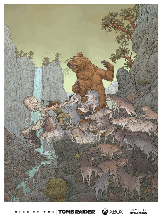 Geoff Darrow - Rise of the Tomb Raider