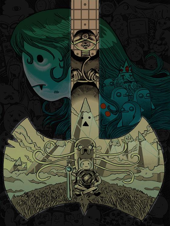 Tim Doyle - Adventure Time for Gallery F Variant