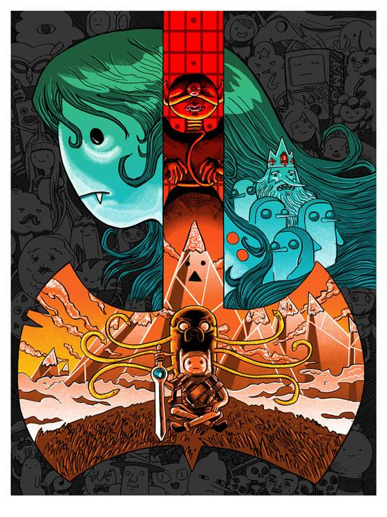 Tim Doyle - Adventure Time for Gallery F