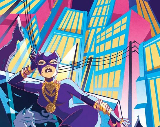 Elsa Charretier – Catwoman Pour French Paper Art Club & Geek-Art