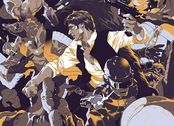 Tomer Hanuka – Star Wars pour Entertainment Weekly