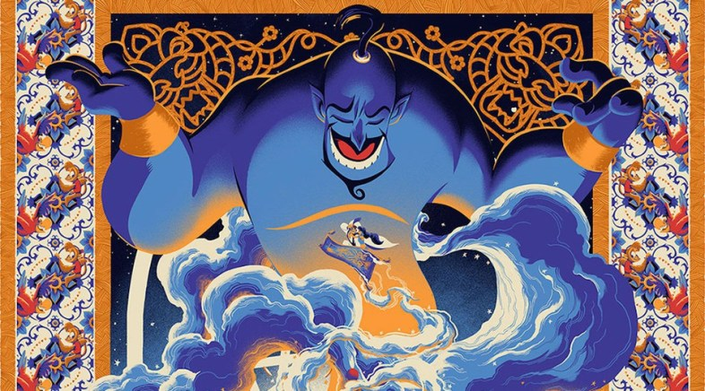 """Never Grow Up"" – The Amazing Disney Art Show at the Mondo Gallery with Cyclops Print Works !"