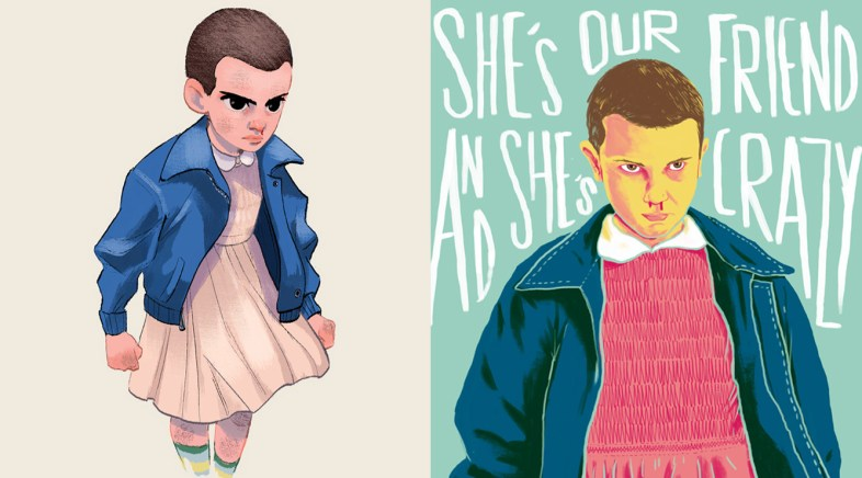 Francisco Guerrero and Henrique Petrus Pay Tribute to Stranger Things on the Geek-Art Store !