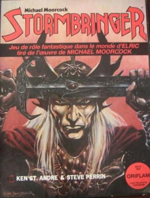 La base des régles du jeu de rôle Stormbringer