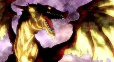Le Dragon Ignir qui a formé Natsu