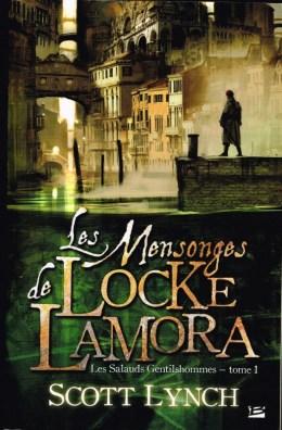 Couverture des Mensonges de Locke Lamora