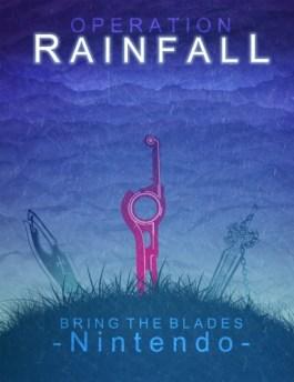 Les trois épées représentant les trois jeux que l'opération Rainfall a réussi à nous amener en Europe