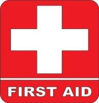 Non ce n'est pas un drapeau suisse mais bien le centre de premiers secours