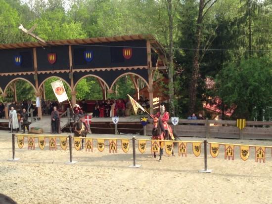 chevaliers prêts à en découdre
