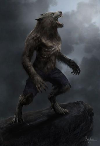 Illustration provenant du jeu de rôle Loup Garou du Monde des Ténèbres par Rodolfo Gorrin