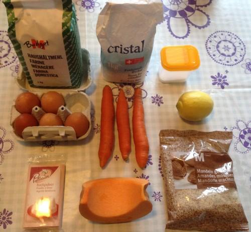 Les ingrédients de nos têtes de citrouilles