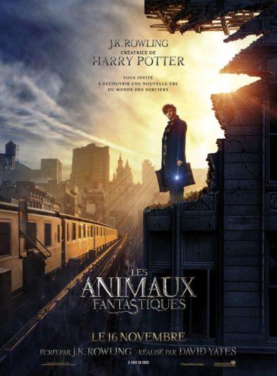 L'affiche du film les Animaux fantastiques