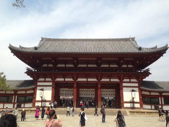 La porte intérieure du Todai-ji