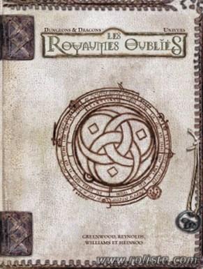 Le manuel d'univers des Royaumes Oubliés Source de l'image : www.roliste.com