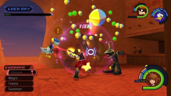 Lors des combats les monstres lâchent des récompenses sous forme de sphères