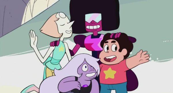 Les Gemmes de Cristal et Steven