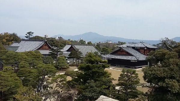 Nijo-jo castle extérieur