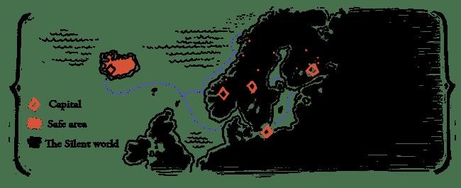 Carte du Monde Connu