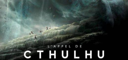 Aventuriers fuyant une manifestation de Cthulhu