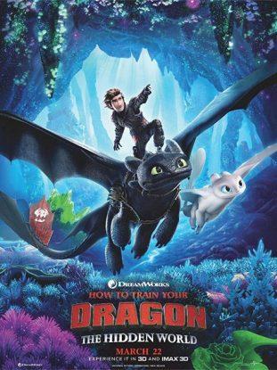L'affiche du film Dragons : le monde caché