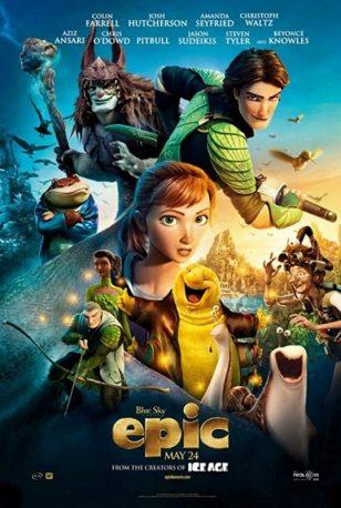 L'affiche anglophone du film Epic