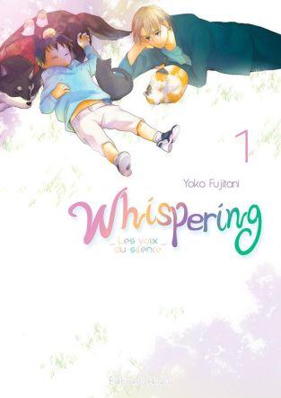 Couverture du tome 1 de Whispering