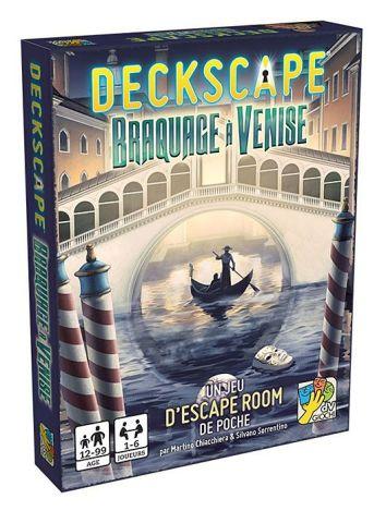 Boîte du jeu Deckscape Braquage à venise