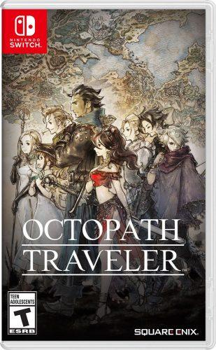 Octopath traveler - Jaquette