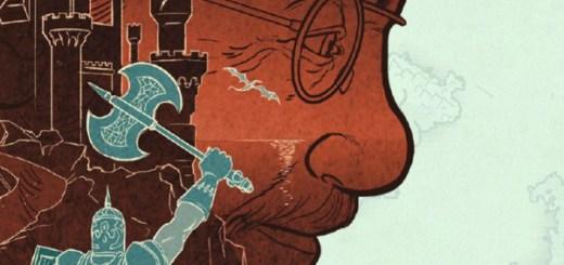 détail de la couverture de l'éveil du donjon