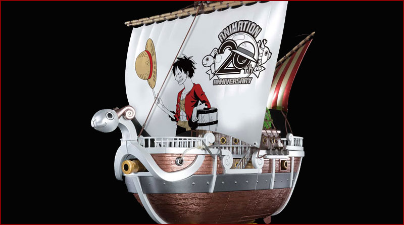 Chogokin - Going Merry - ONE PIECE Anime 20th Anniversary Memorial edition-