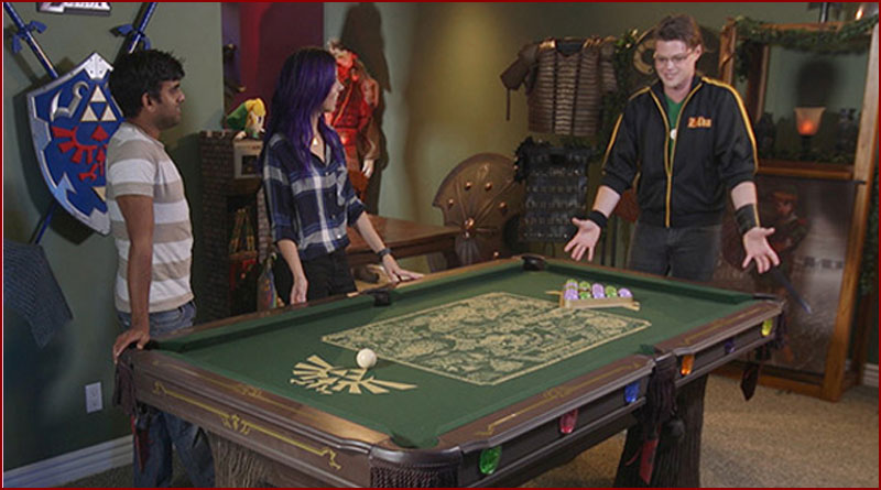 Comment créer une table de billard Zelda !!