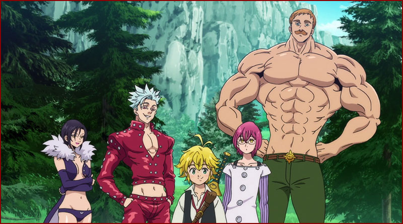 Seven Deadly Sins - Wrath of the Gods -