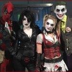 Joker & Harley Qyinn VS Deadpool & Domino