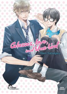 Glasses, love and blue bird