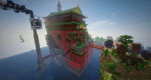 Alan Becker reproduit les mondes du studio Ghibli sur Minecraft !
